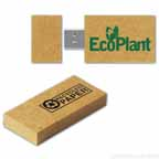 USB 2.0 Recycled Paper Flash Drive GP w/ Magnetic Cap (2 GB)