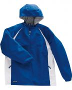 Holloway Adult Polyester 1/4 Zip Hooded Hurricane Jacket