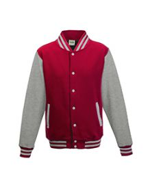Just Hoods By AWDis Men's 80/20 Heavyweight Letterman Jacket