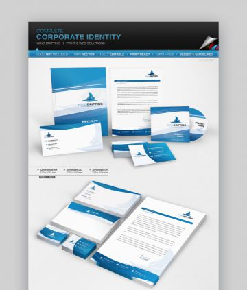 Stationery layout/design