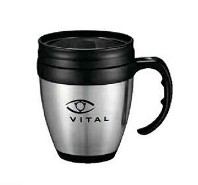 Java Desk 14oz Stainless Steel Mug