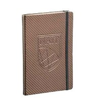 5x7 Ambassador Carbon Fiber JournalBook®