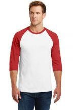 Gildan® Heavy Cotton™ 3/4-Sleeve Raglan T-Shirt